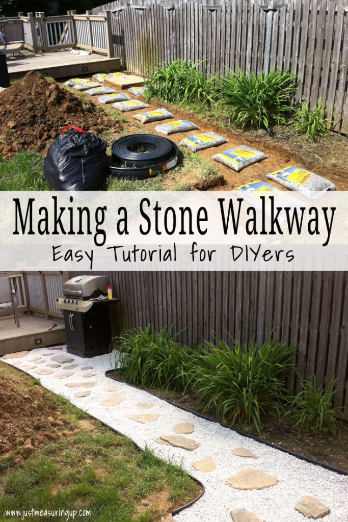 Making a Stone Pathway - Step-by-Step Tutorial