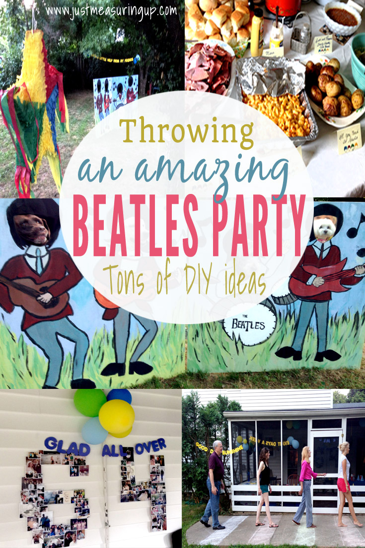 How to Throw the Best Beatles Party