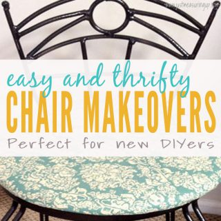 How to Spruce Up Old Chairs