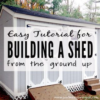 How to Build a DIY Storage Shed