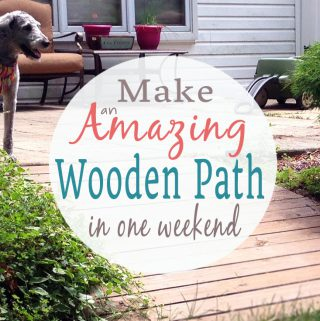 How to Make a Wooden Pathway