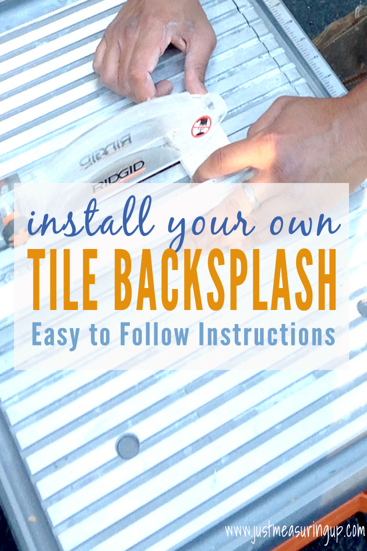 How to Install Tile Backsplash