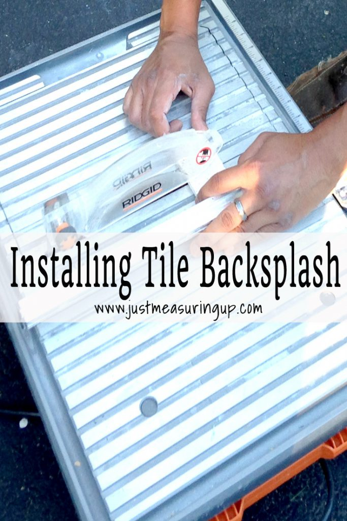 How to Install Tile Backsplash in the Kitchen