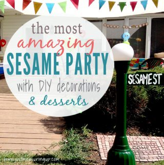 How to Throw the Best DIY Sesame Street Party