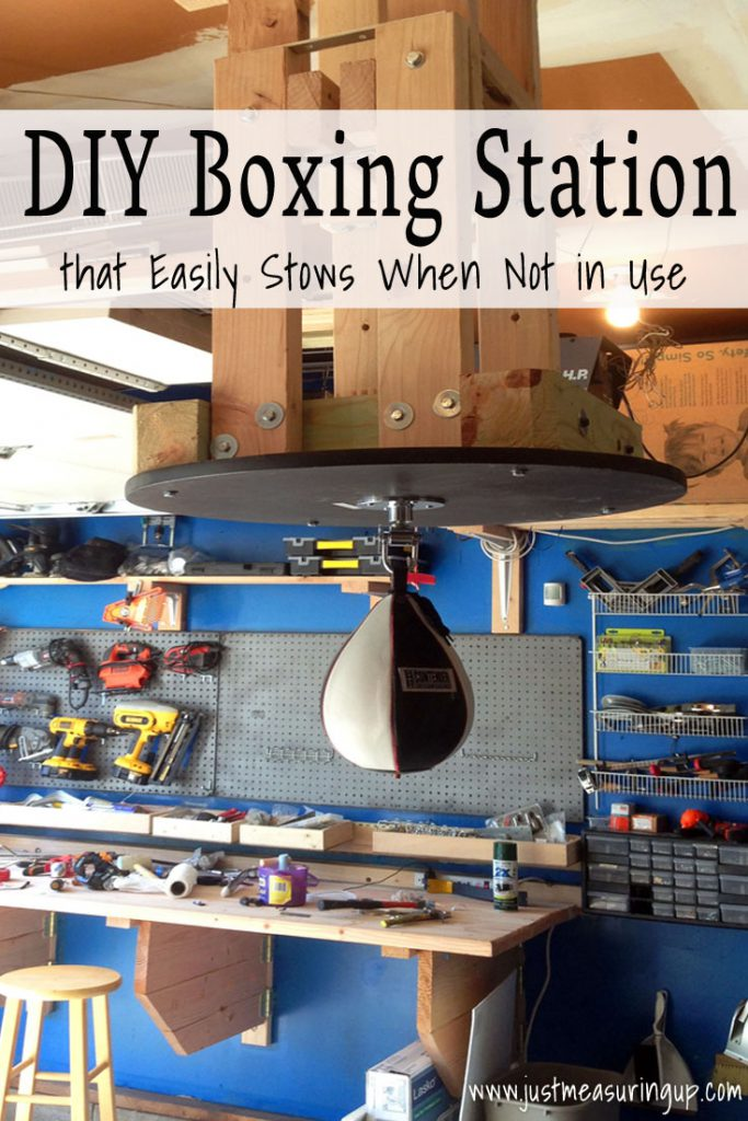 DIY Speedbag Boxing Station that Folds - Easy Tutorial