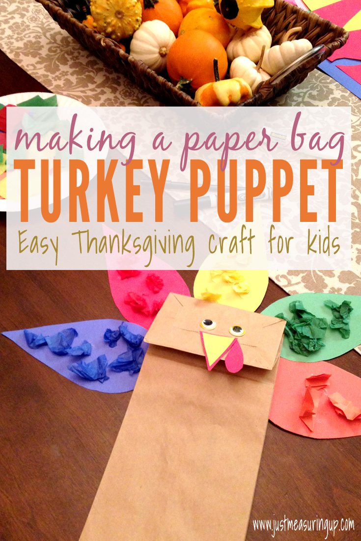 Making a Paper Bag Turkey Puppet - Perfect Thanksgiving Craft for Kids!