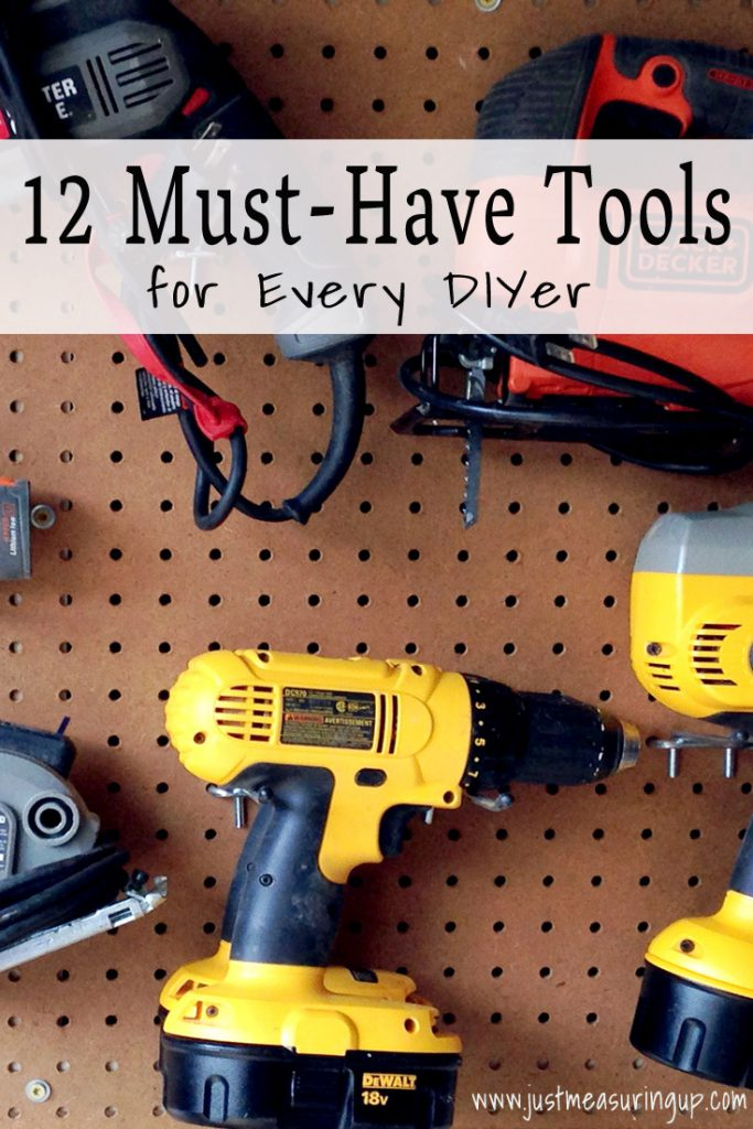 12 Must-Have Tools for DIYers