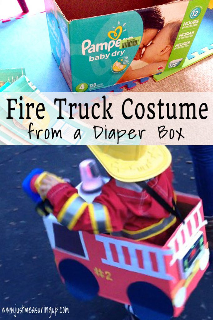 Fire Truck Costume for Halloween