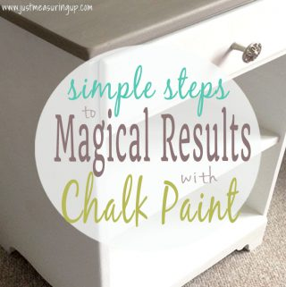 How to Refinish Furniture with Chalk Paint