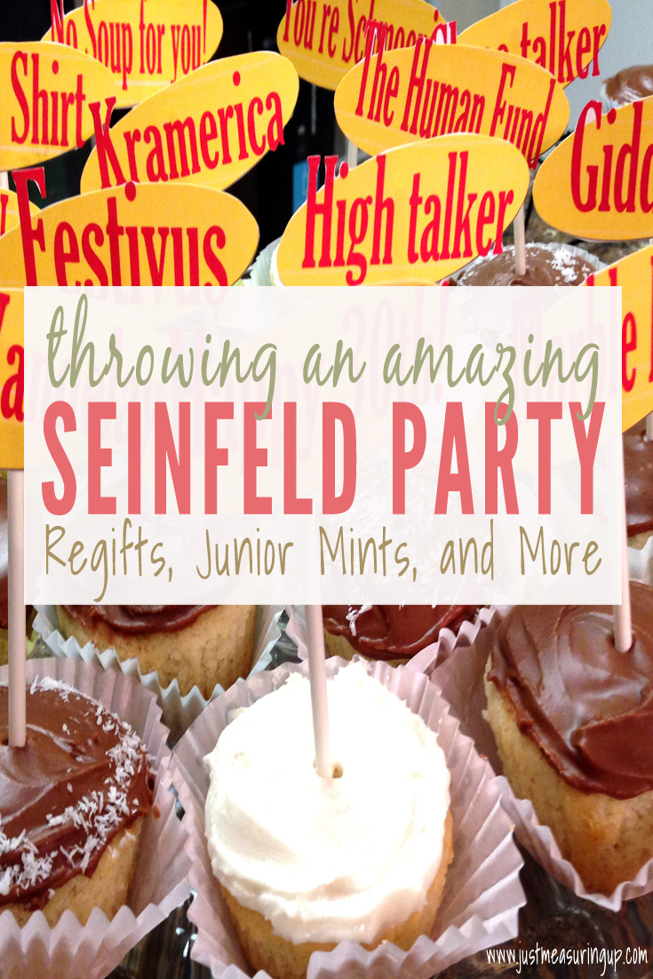 Seinfeld theme party ideas