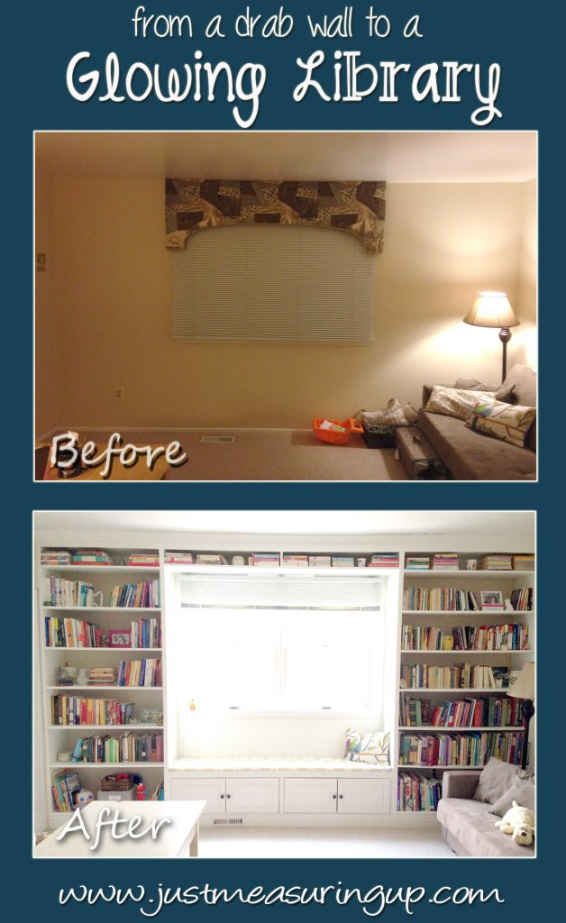 How to Build a DIY Bookshelf with a Window Seat