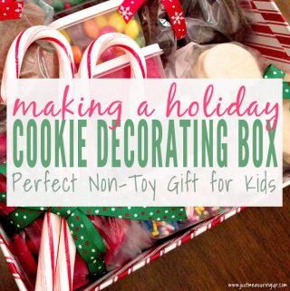 DIY Cookie Decorating Gift Basket