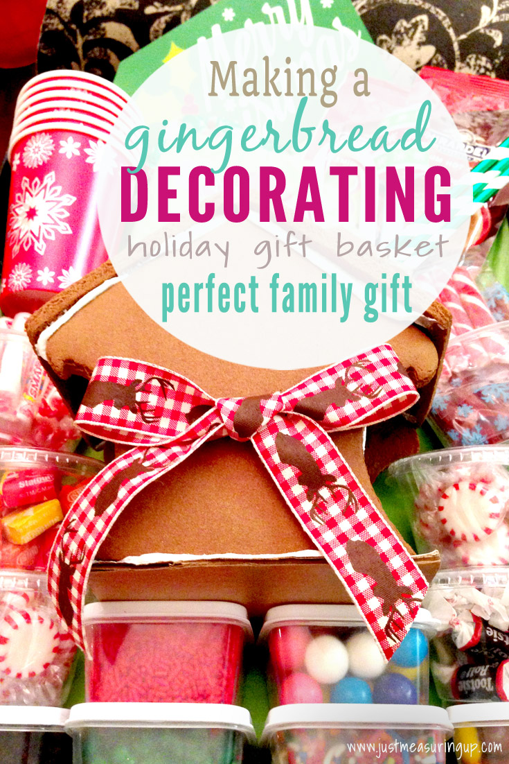 DIY Gingerbread House Decorating Gift