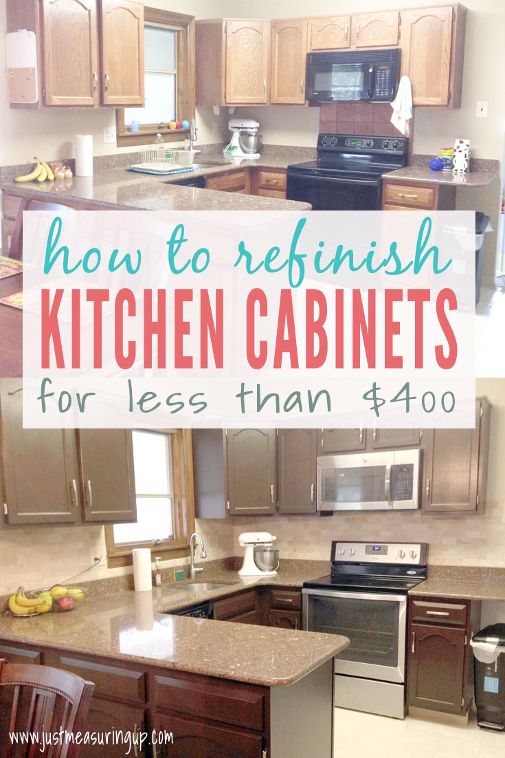 How to Refinish Kitchen Cabinets with Gel Stain - Best DIY Projects