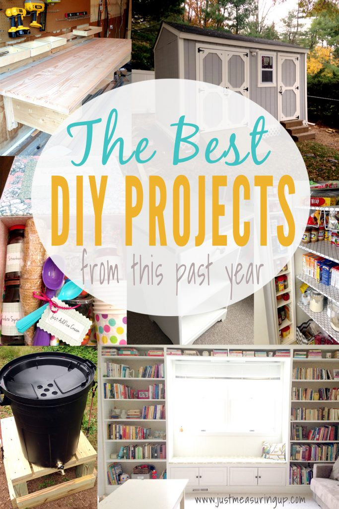 Most Popular DIY Projects with Full Tutorials