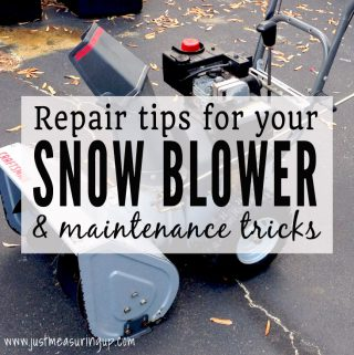 How to Fix Up an Old Snow Blower