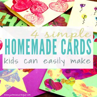 Easy Homemade Thank You Cards that Kids Can Make