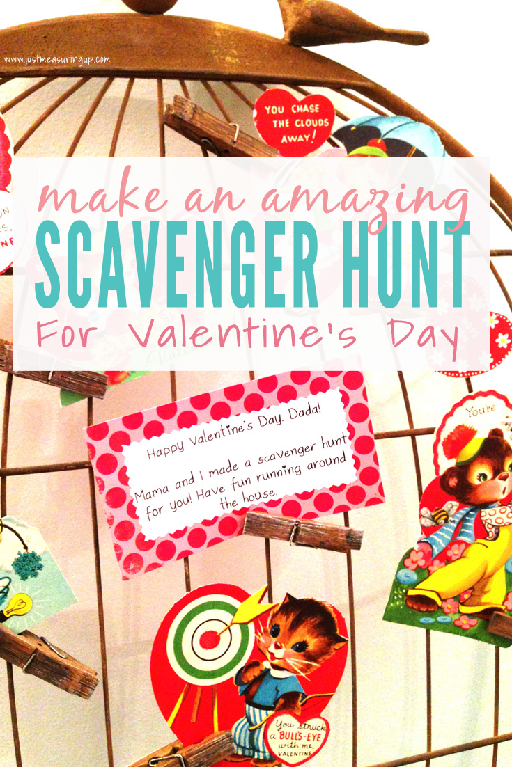 Making an Awesome Scavenger Hunt for Valentine's Day