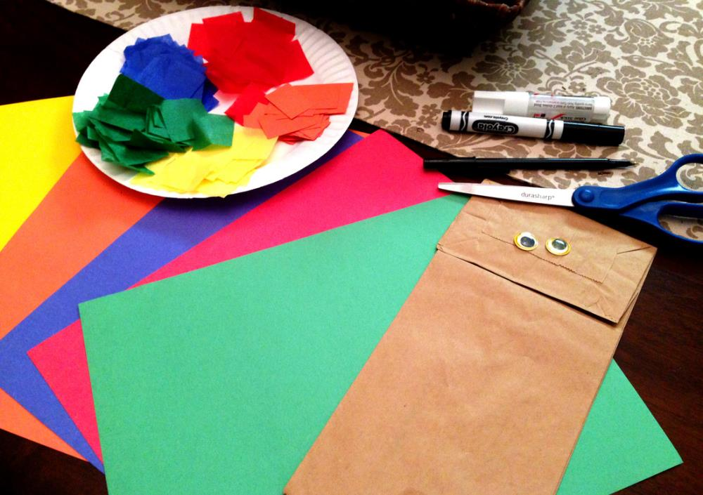 Paper Bag Turkey Puppet Craft - Easy Thanksgiving Learning Activity