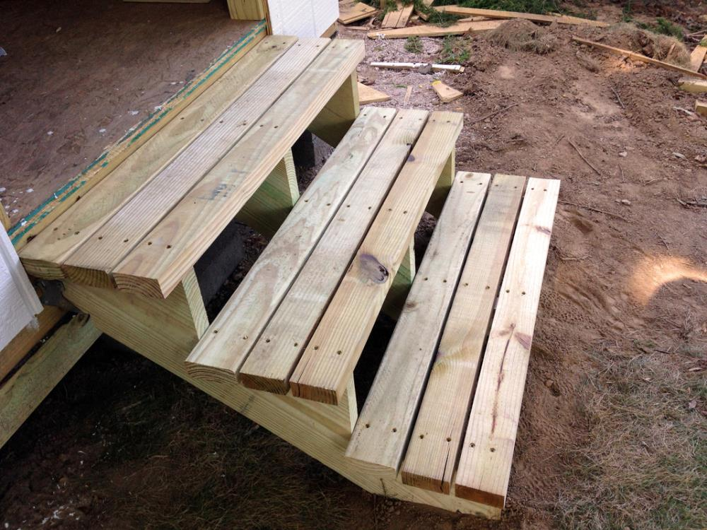 Building Steps for the Shed - Shed Tutorial