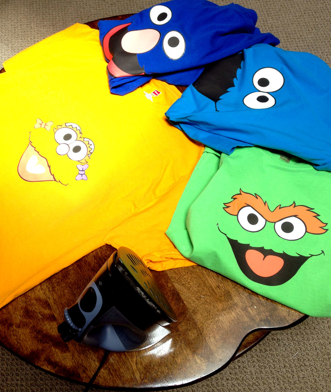 DIY Sesame Street T-Shirts