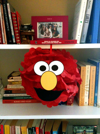 How to Throw An Amazing DIY Sesame Party - Character Pom-Poms
