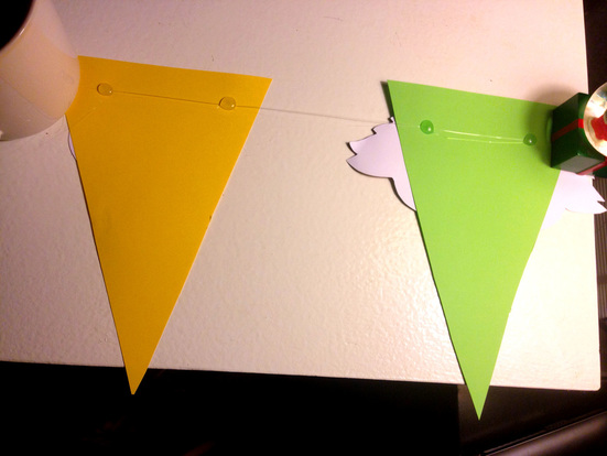 How to Make Sesame Street Party Pennants