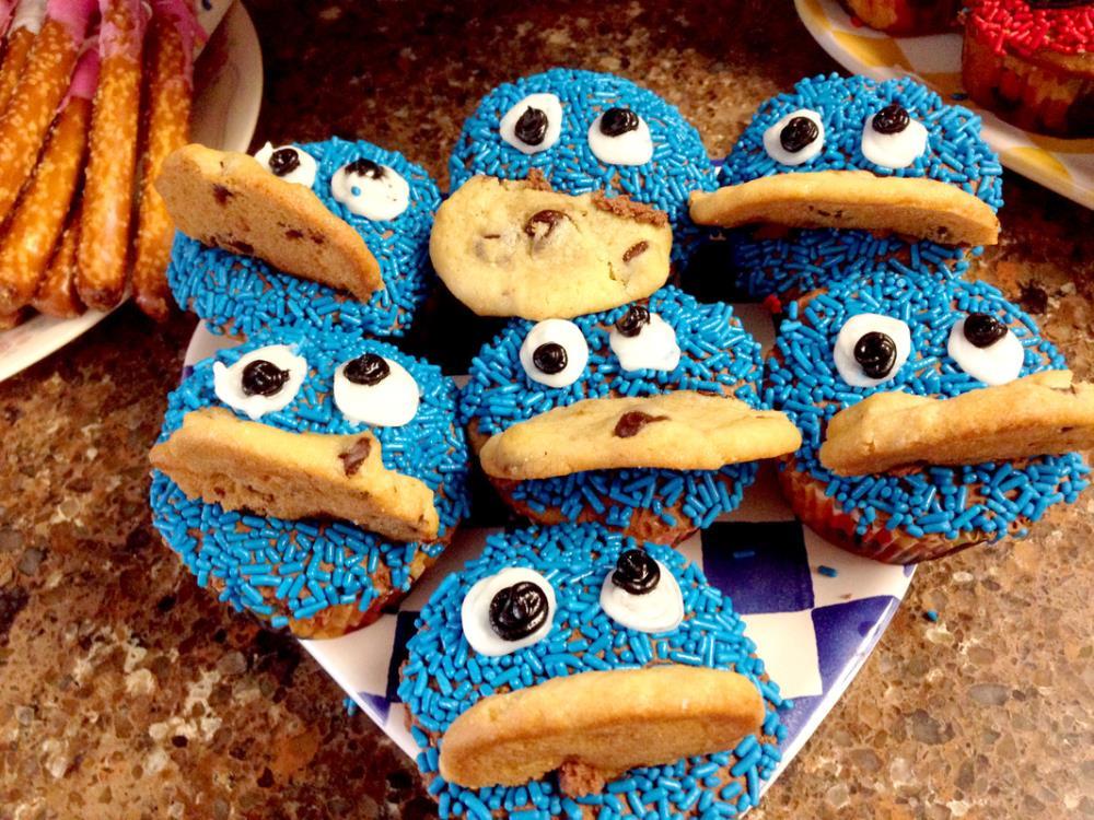 Homemade Sesame Street Desserts