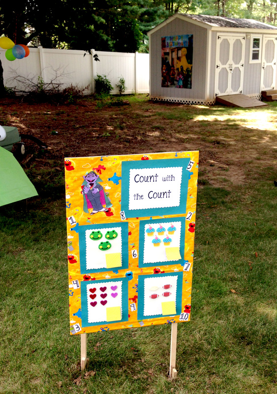 Count with the Count - Amazing Sesame Street Party Games