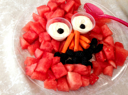Elmo Watermelon Platter - Sesame Street Party Food