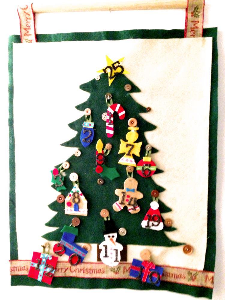 Homemade Advent Calendar - Easy DIY Tutorial