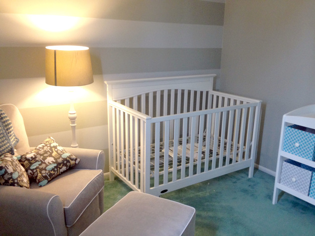 Turning a Room into a Nursery - Planning, Painting, Furnishing a Nursery