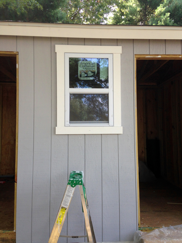 How to Build a Shed - Installing Windows