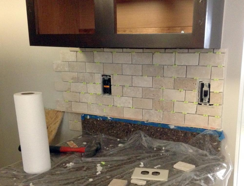 How to Install Tile Backsplash Tutorial