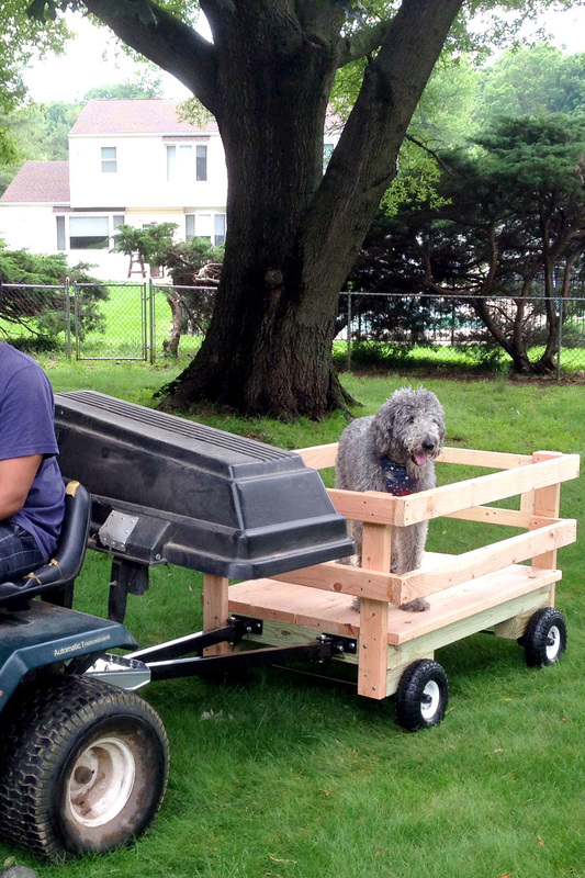 DIY Backyard Projects - Building a Wagon