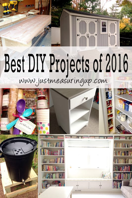 Best DIY Projects of 2016 - Step by Step Tutorials