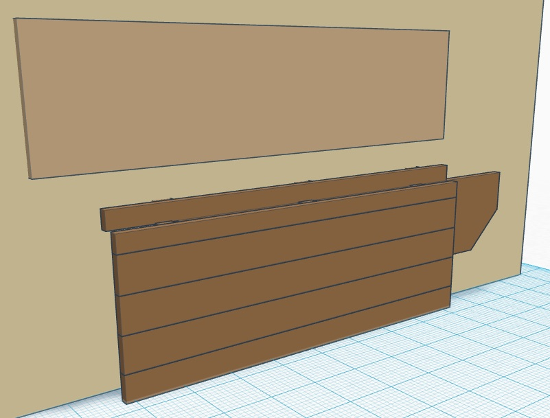 How to Build a Wall-Mounted, Folding Workbench in One Weekend