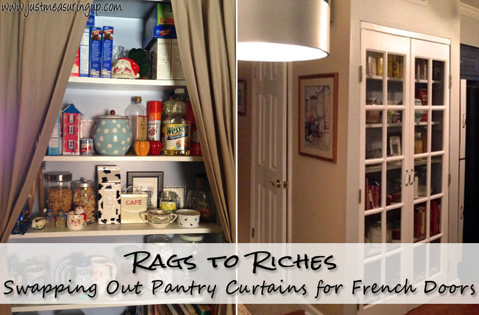 Kitchen Upgrade - French Doors on the Pantry