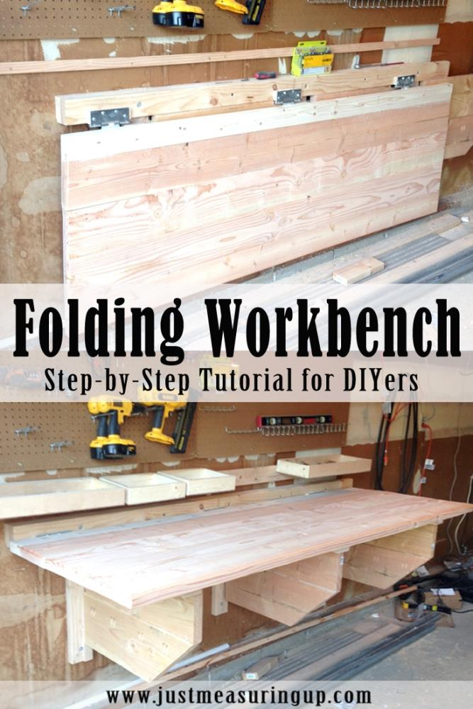 How to Make a DIY Folding Workbench