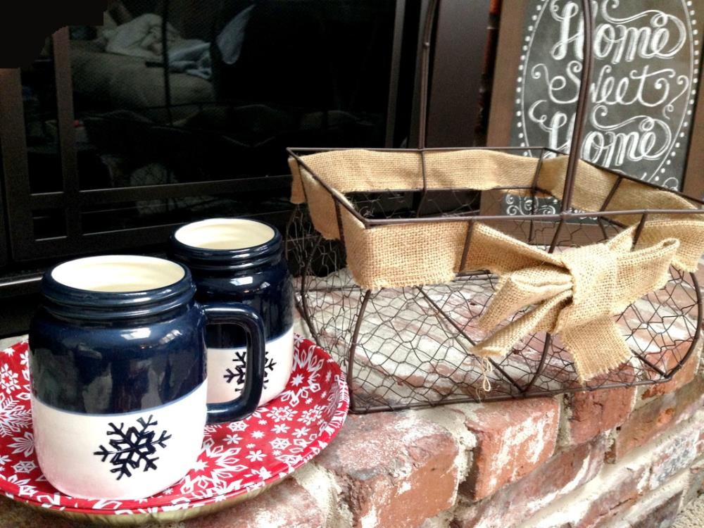 Winter Gift Ideas - Indoor Picnic Basket