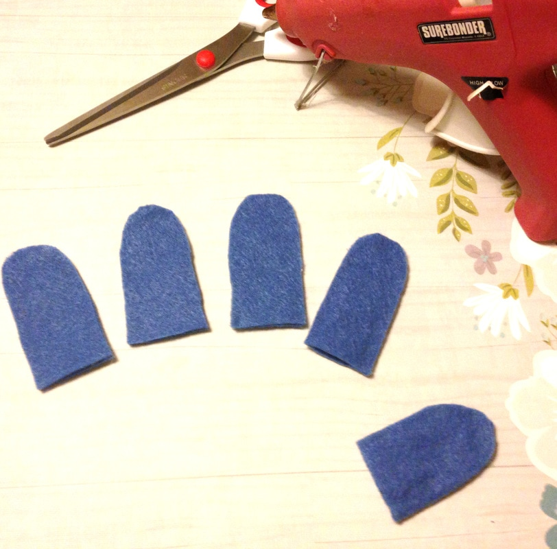How to Make Felt Finger Puppets