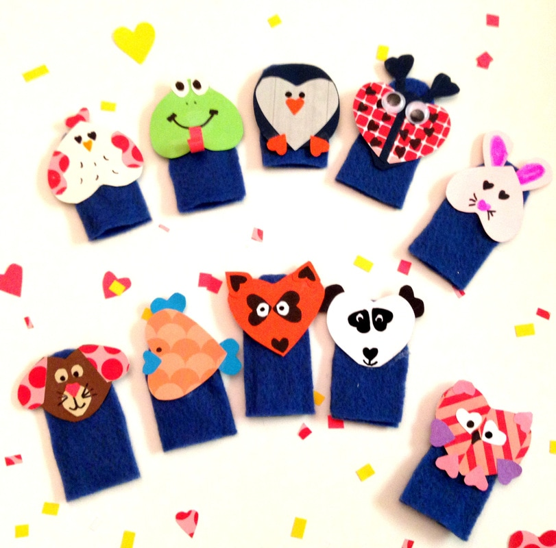 Making Felt Finger Puppets - Easy Tutorial