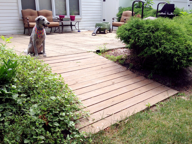 6 Weekend Projects - Building a Boardwalk for the Backyard