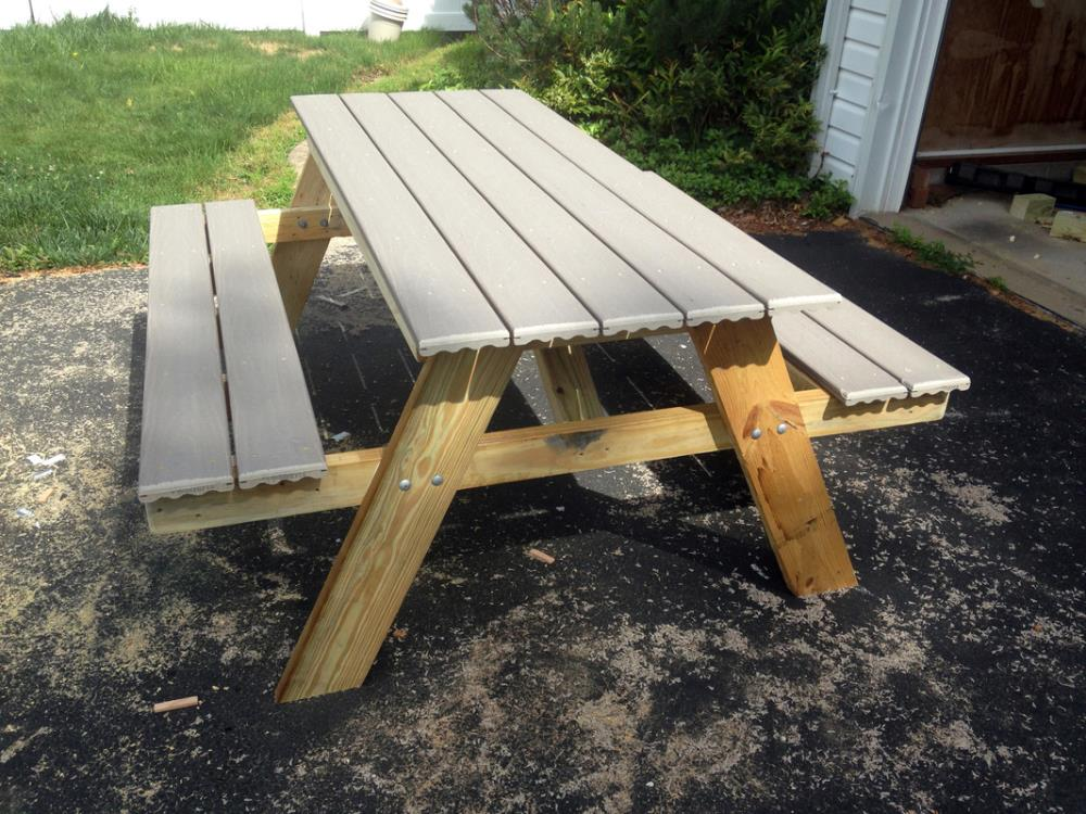 Building a Picnic Table in ONE day