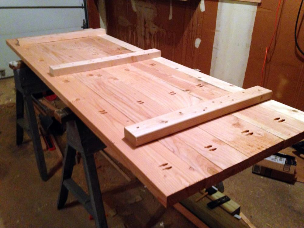 Constructing the Tabletop of the DIY Floating Workbench