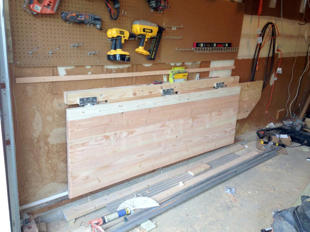 How to Build a Folding Workbench