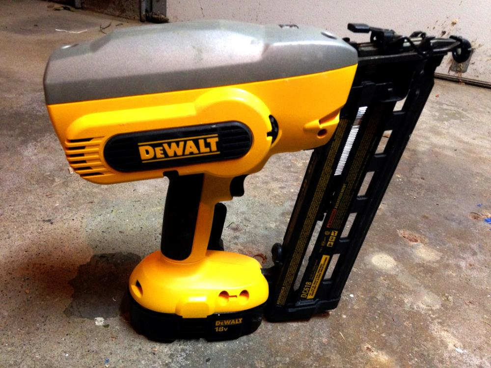12 Must-Have Tools for DIYers - Finishing Nail Gun