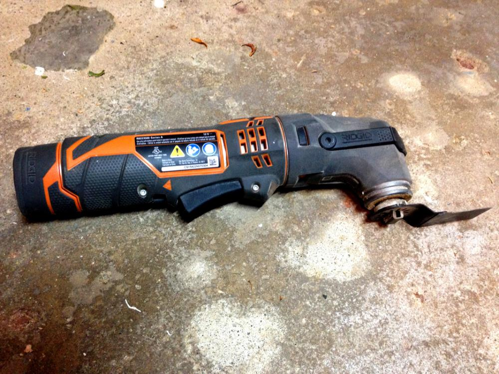 12 Must-Have Tools for DIYers - Oscillating Multi-Tool