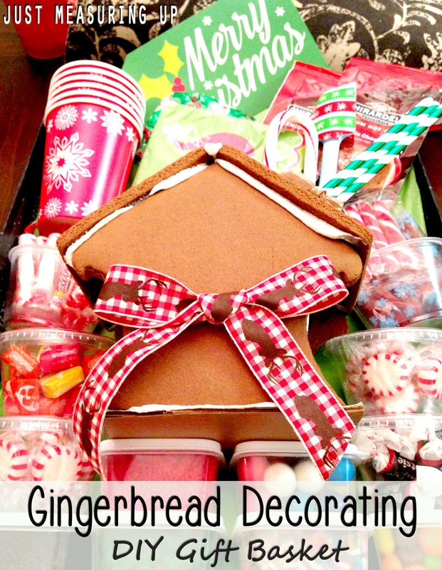 Making a Gingerbread House Gift