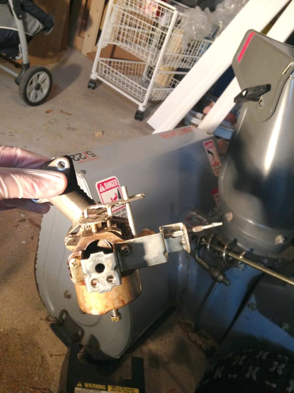 Fixing an Old Snow Blower